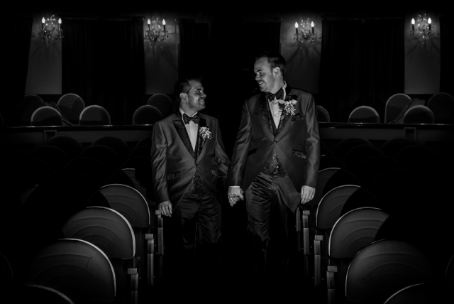 Teatro municipal de Almagro David Rodriguez wedding photographer